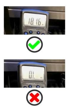 Open circuit testing