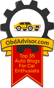 Top 35 Best Auto Blogs Award