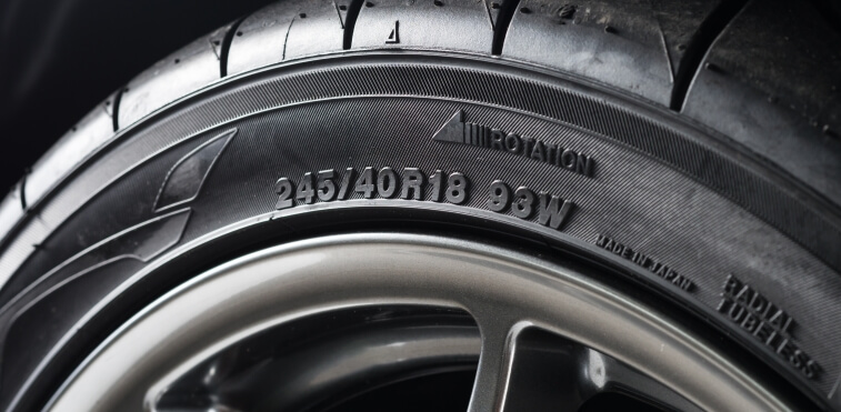 Sidewall of an automotive tire