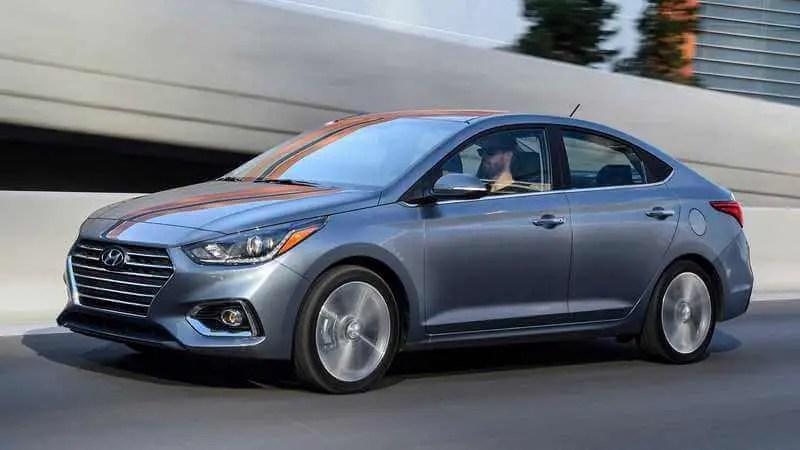 Silver 2020 Hyundai Accent Sedan