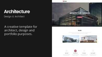 Deliver Architecture Portfolio Design Architect Template Nulled Free Download Themede