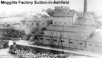 Meggitts Factory Sutton in Ashfield