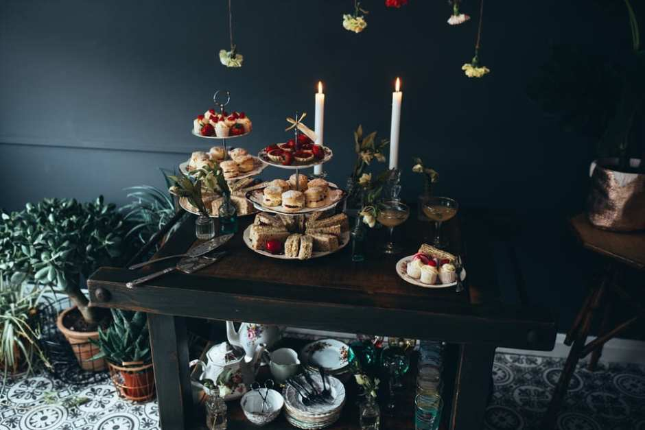 afternoon tea photography