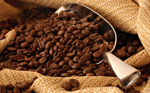 cofee beans.  6-14