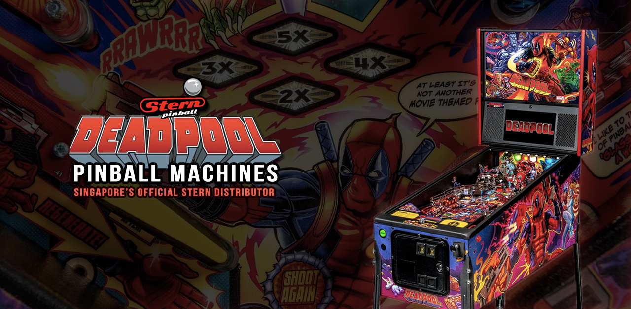 Pinball Machines Singapore