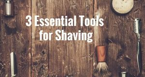 3 items for… 3 steps in shaving!