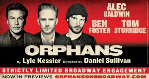 The Broadway Premier of Orphans – Giveaway!