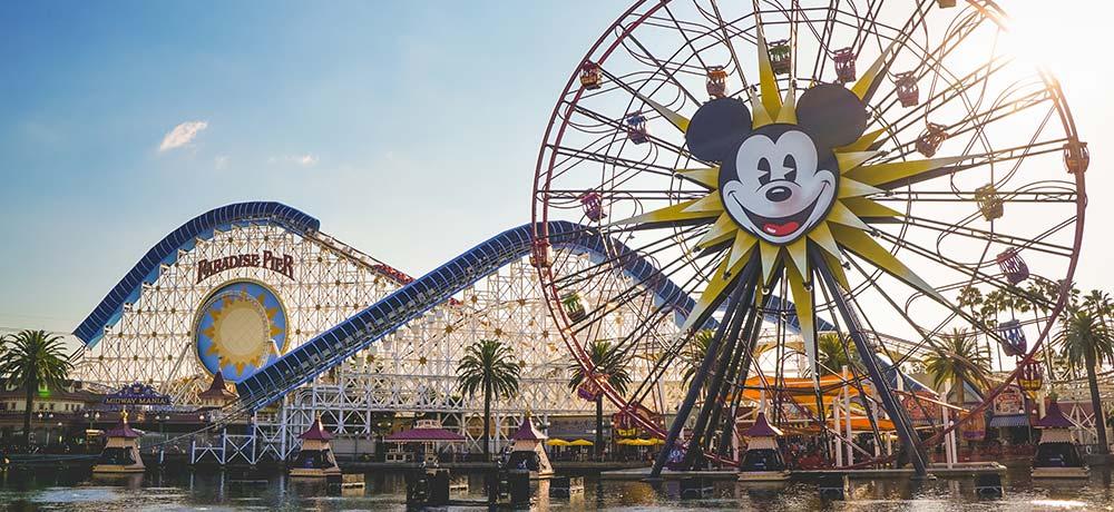 Getting ready for Disneyland