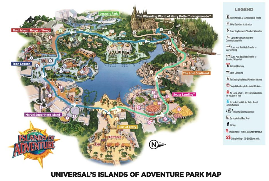 One day at Universal Orlando