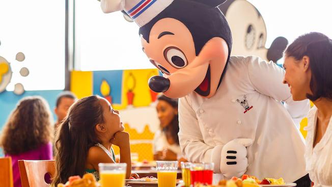 Chef Mickey at Disney World