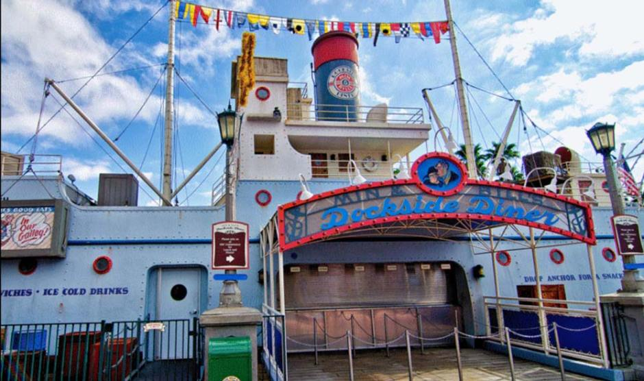 Dock Diner Quick Service Hollywood Studios