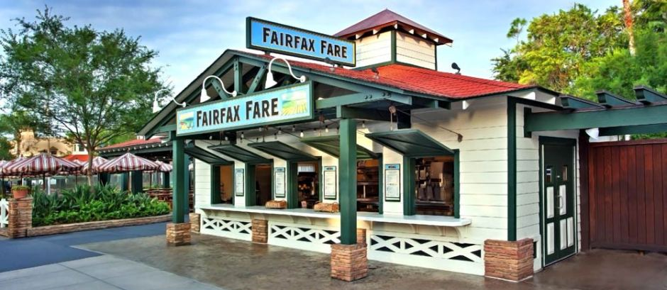 Fairfax Fare Quick Service Hollywood Studios
