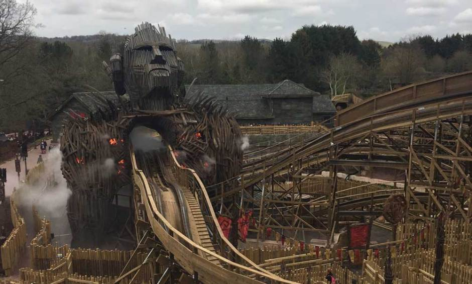 The Wicker Man Alton Towers best theme parks in England