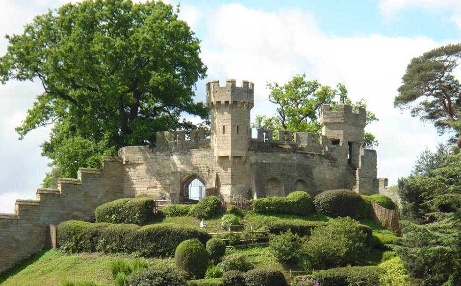 Warwick Castle best theme parks in England