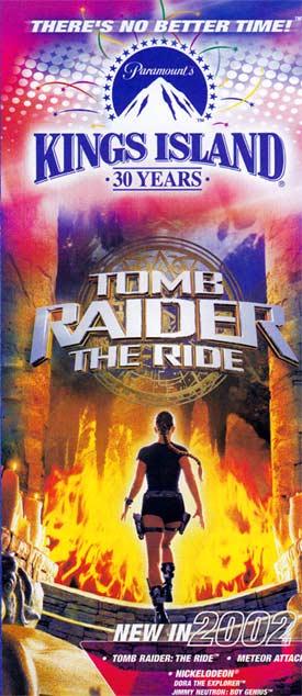 Theme Park Brochures Paramount's Kings Island - Theme Park ...