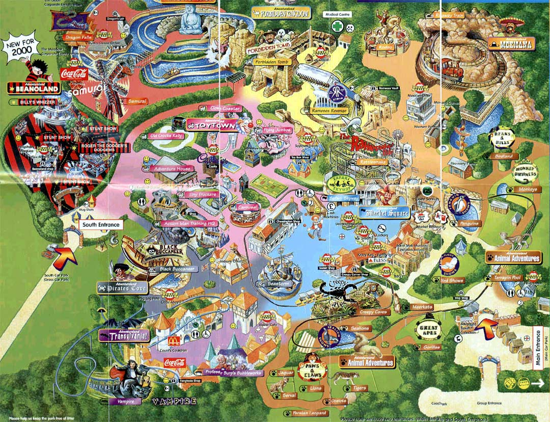Theme Park Brochures Chessington World of Adventures   Theme Park     Theme Park Brochures Chessington World of Adventures   Theme Park Brochures