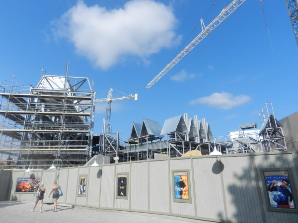 Wizarding World of Harry Potter Construction Summer 2013