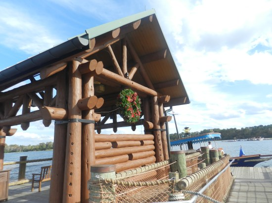 Christmas at Fort Wilderness Cabins 2013