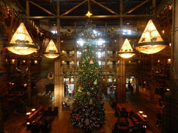 Christmas at Fort Wilderness Lodge Resort 2013