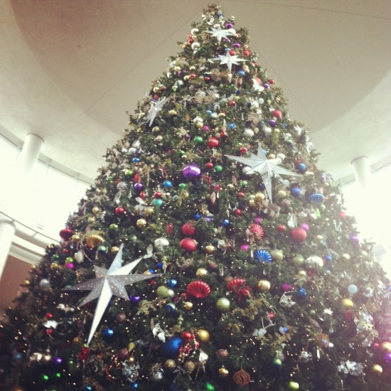 Christmas tree love from the Mall at Millenia