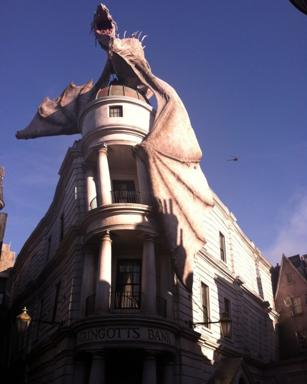 Diagon Alley: Gringotts Bank