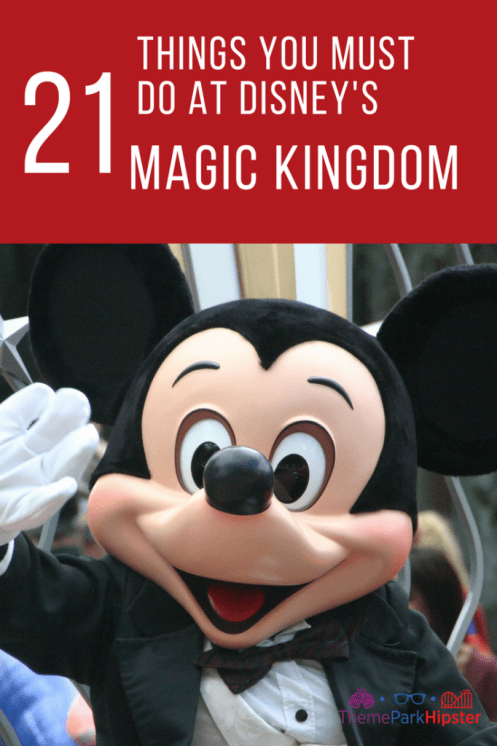 Best Magic Kingdom Rides and Attractions Guide with Mickey Mouse.