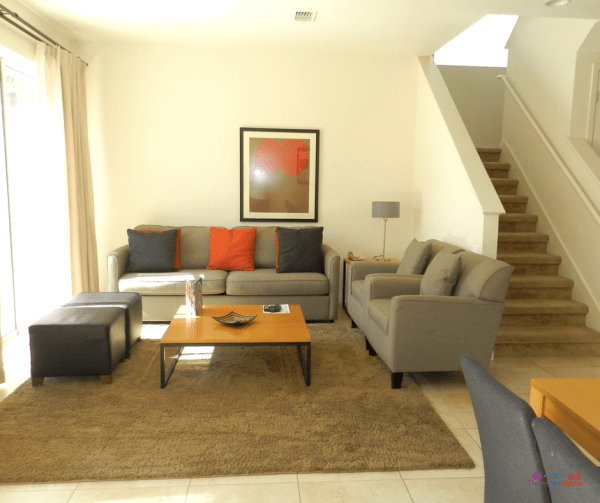 19 reasons you'll love CLC Regal Oaks. Living room area with couch and love seat.