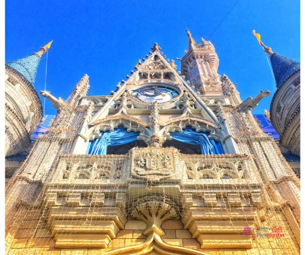 Magic Kingdom Secrets at Walt Disney World in front of Cinderella Castle