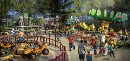 Knotts Berry Farm Announces Three New Camp Snoopy Rides