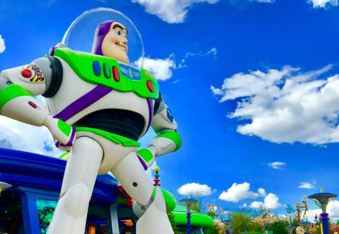 Buzz Lightyear at Toy Story Land