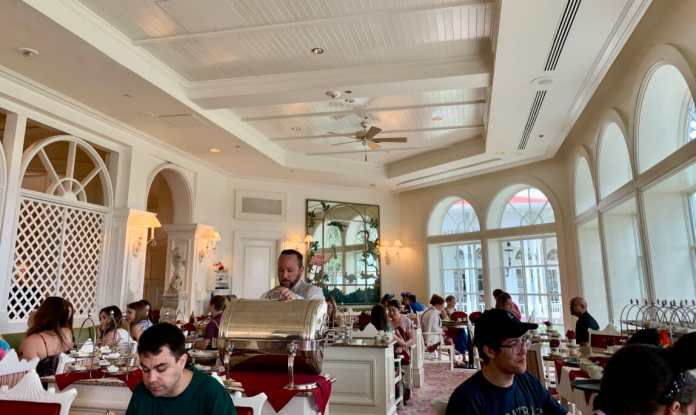 Garden View Tea Room at Disney's Grand Floridian Resort and Spa