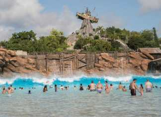 Typhoon Lagoon Water Park Walt Disney World