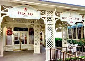 First Aid Location at the Magic Kingdom