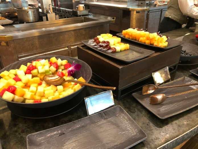 Buffet at Disney Princess Adventure Breakfast