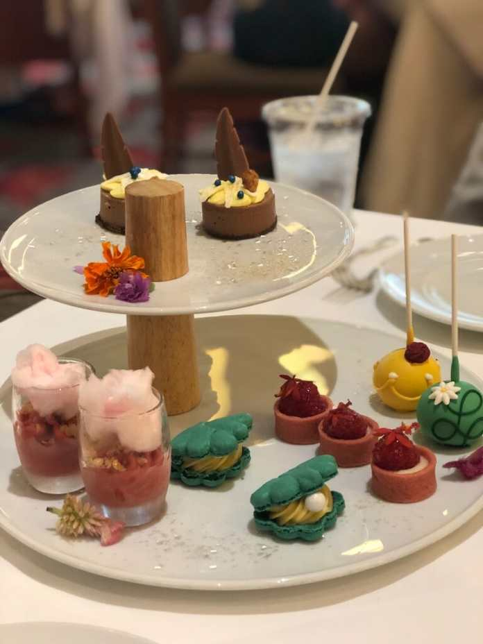 Dessert at Disney Princess Adventure Breakfast