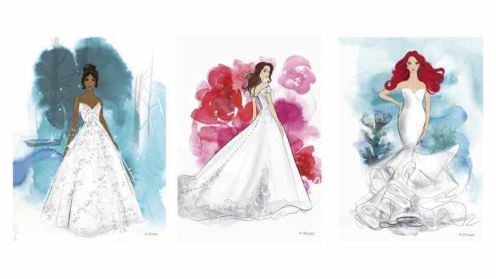 Disney fairytale Wedding Gowns