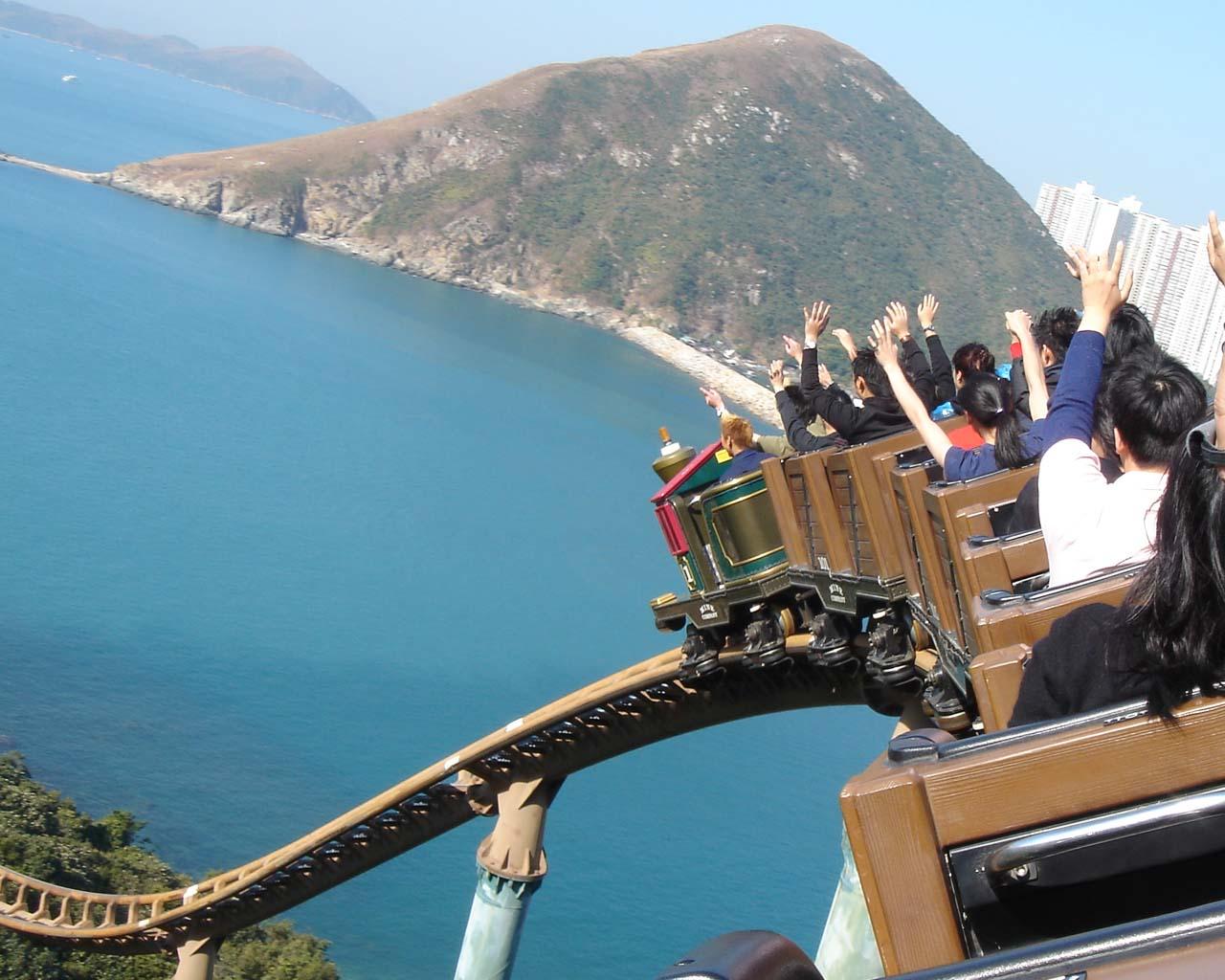 Ride at Ocean Park