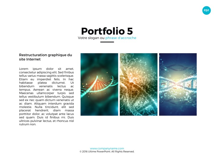 Slides Powerpoint professionnels