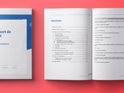 soutenance rapport stage word