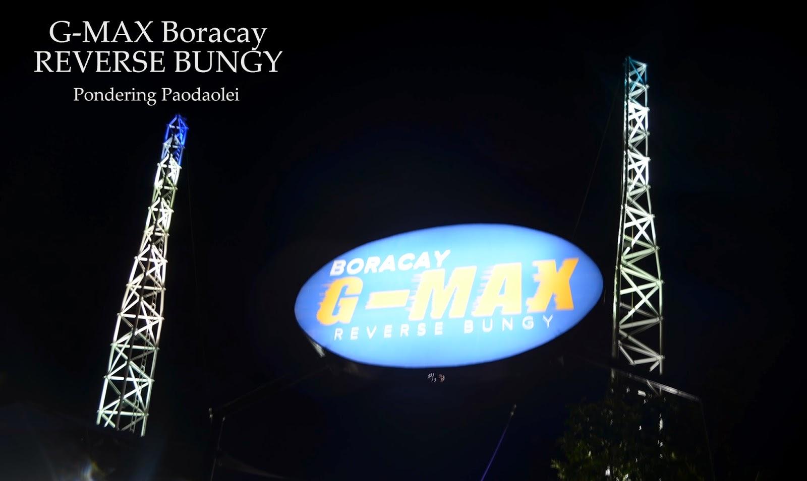 G-Max Boracay:  My Mind Said No But My Heart Said Go
