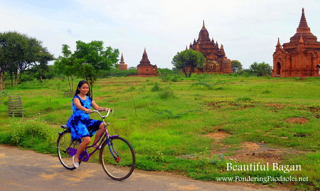 Biking in Bagan