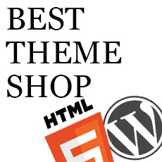 Best Theme Shop Wordpress HTML