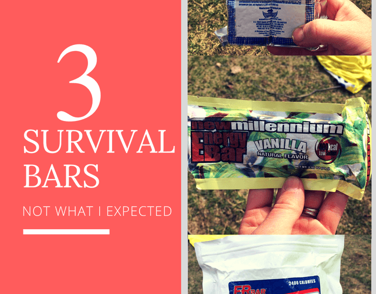 Which survival bars are best? As a family, did a taste test a few of the most common survival bars. Read about the pros and cons of 3 common ER bars