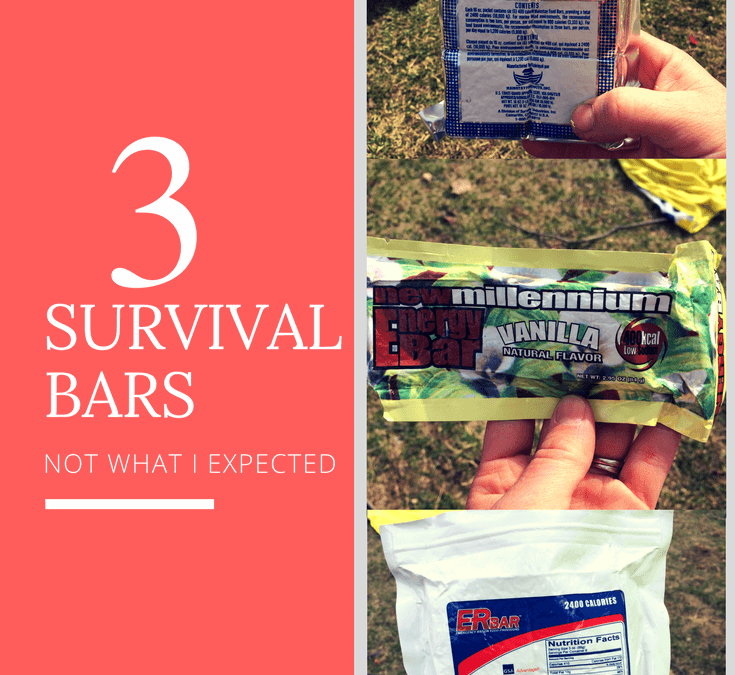 ER Bar Review- Emergency Rations and Survival Bars