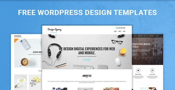 free WordPress design templates