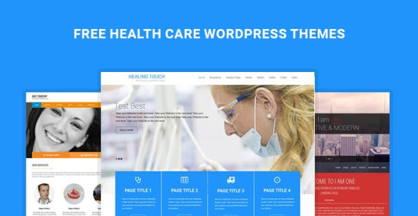 free healthcare wordpress themes-banner