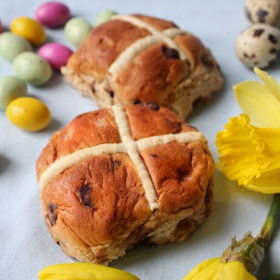Easter UK Hot Cross Bun
