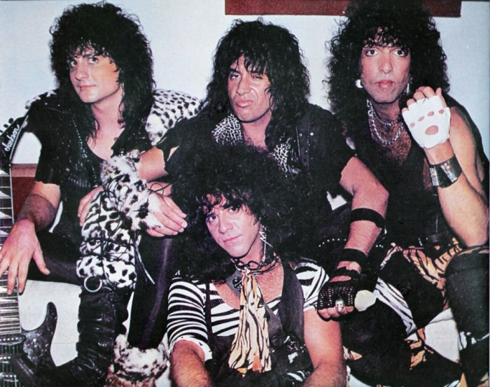 Kiss - Animalize Lineup Without Makeup