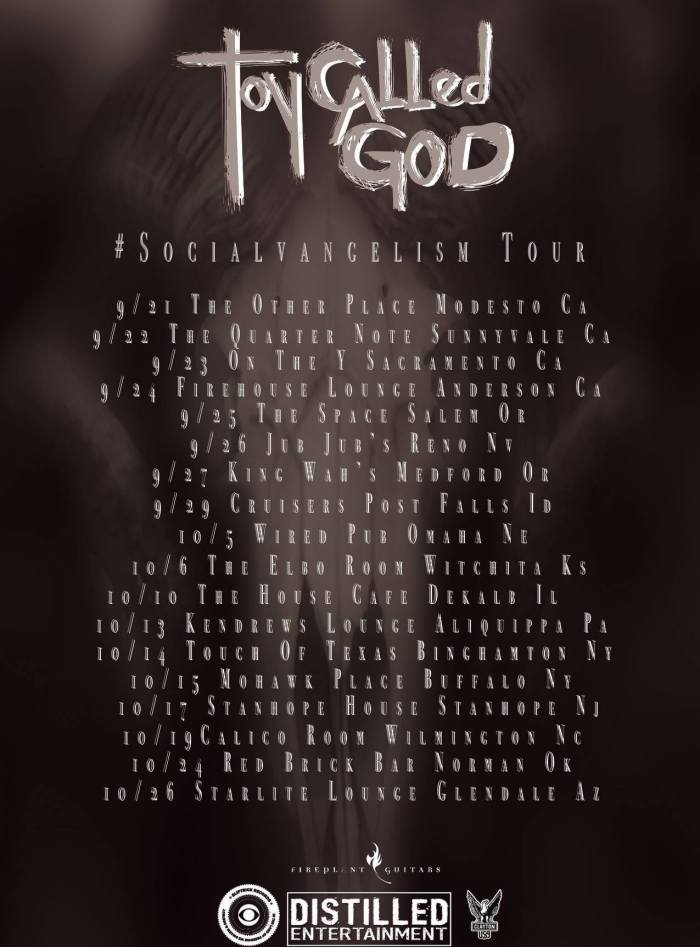 Toy Called God Tour