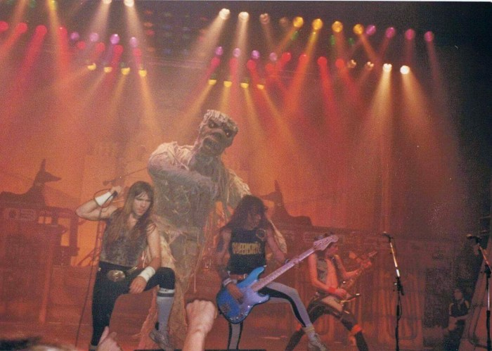 Iron Maiden - World Slavery Tour